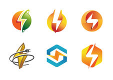 Electricity Symbol Creative Design. Illustration Stock Photos