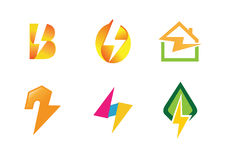 Electricity Symbol Creative Design. Illustration Stock Images