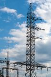 Electricity tower Royalty Free Stock Images