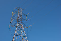 Electricity Tower Royalty Free Stock Photography