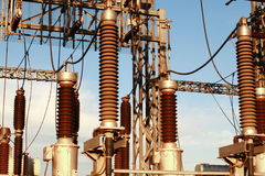Free Electricity Tower Royalty Free Stock Photography - 36276637