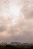 Electricity tower Royalty Free Stock Photo
