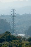 Electricity tower. High voltage royalty free stock photo
