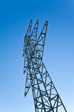 Electricity tower for energy Royalty Free Stock Photos