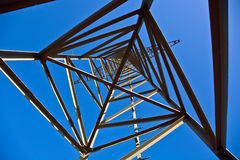 Electricity tower for energy Stock Photography