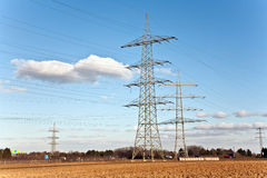 Free Electricity Tower For Energy Royalty Free Stock Photos - 37131678