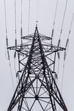 Electricity tower with high voltage Royalty Free Stock Image