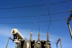 Electricity transformer Stock Image