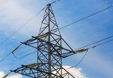 Electricity transmission pylon Stock Photos