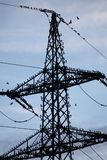 Electricity, Transmission Tower, Sky, Electrical Supply Stock Images