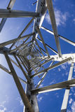 Electricity transmission towers without wires Royalty Free Stock Photos