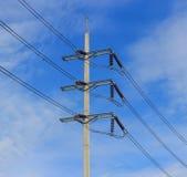 Electricity transportation line Stock Photo