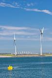 Electricity Windmills Stock Images