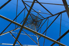 Electricity wire and pylon Royalty Free Stock Image