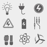 Electriciy Vector Icon. Icon / vector with electricity theme Royalty Free Illustration