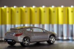 Electrict/υβριδική έννοια αυτοκινήτων Στοκ Εικόνα