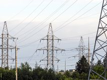Electrification Royalty Free Stock Image