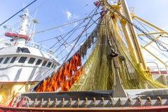 Electrified and devastating fishing net Royalty Free Stock Image