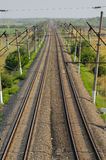 Electrified railway Stock Photos