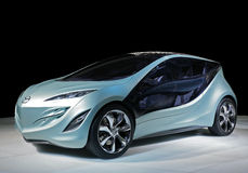 Electrique di Mazda dell'automobile di concetto Immagini Stock