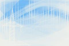 Electrisity-Hintergrund lizenzfreie abbildung