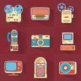 Electrónica de la vendimia Fotografía de archivo
