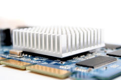 Electrónica del ordenador Imagen de archivo
