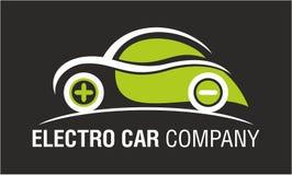 Electro Car Company被隔绝的商标设计 图库摄影
