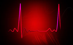 Electro Cardio Graph Stock Photos
