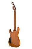 Electro guitar. Isolated on white background Stock Image