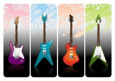 Electro guitars Stock Photos