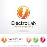 Electro Lab Logo Template Design Vector, Emblem, Design Concept, Creative Symbol, Icon Stock Photos