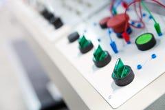 Electro panel Stock Photography