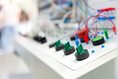 Electro panel Stock Photos