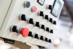Electro panel Royalty Free Stock Images