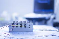 Electroacupunture-acupunture Maschine Lizenzfreies Stockbild
