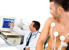 Electrocardiógrafo Fotografía de archivo libre de regalías