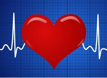Electrocardiogram Stock Photography