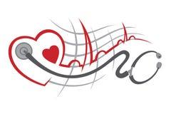 electrocardiogram Royaltyfri Foto