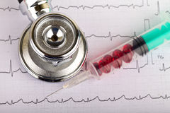 electrocardiogram foto de stock