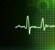 Electrocardiogram background Royalty Free Stock Image