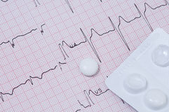 Electrocardiogram Stock Image