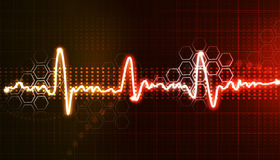 Electrocardiogram Royalty Free Stock Image