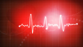 Electrocardiogram Royalty Free Stock Photos