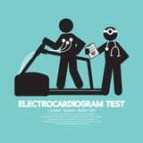 Electrocardiogram Test. Royalty Free Stock Photo