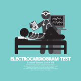 Electrocardiogram Test. Royalty Free Stock Photography