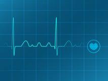 Electrocardiograma ilustración del vector