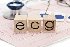 electrocardiograph Images libres de droits