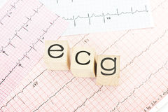 Electrocardiograph Royalty Free Stock Images