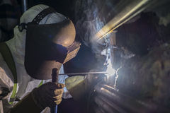 Electrode welding Stock Photography